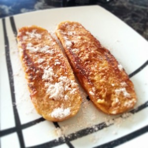 Versión 2.0 tostadas francesas