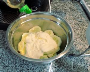 Gazpacho pepino - preparación