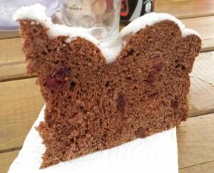 Pan dulce - corte