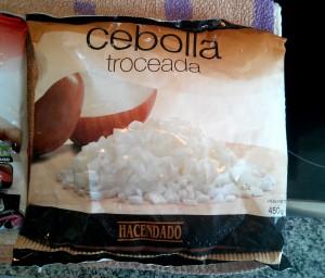 Mexicano - cebolla