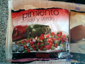 Mexicano - pimiento