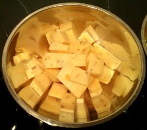 Cumpleaños - queso holandes nueces
