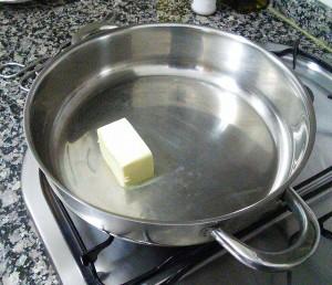 Derritiendo la mantequilla