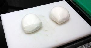 Bolas de mozzarella