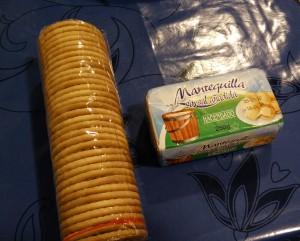 Galletas y mantequilla