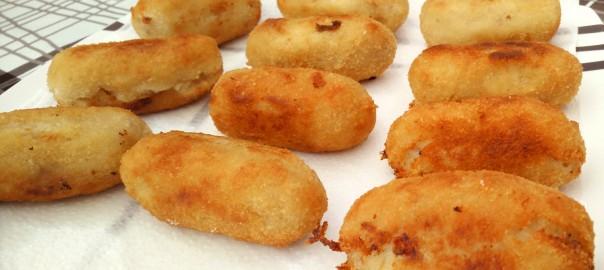 Croquetas de berenjena y queso