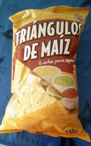 Triángulos de maíz