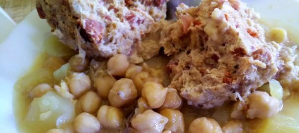 Cocido con pelota de carne