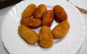 Croquetas de pescado