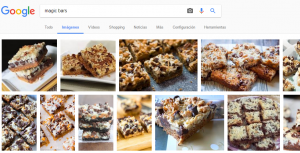 Búsqueda en Google de Magic bars