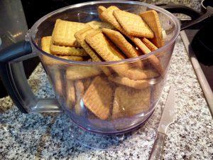 vamos a triturar galletas